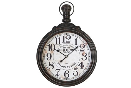 28 Inch Wooden Wall Clock