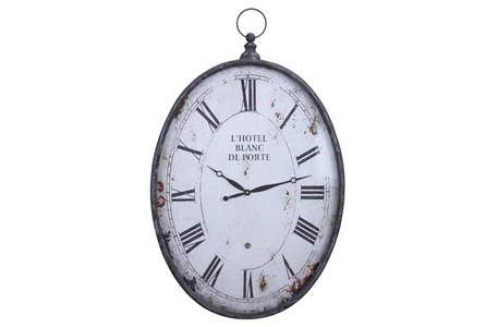 23 Inch Metal Wall Clock