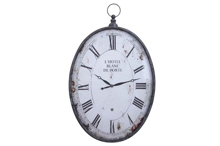 23 Inch Metal Wall Clock - Main