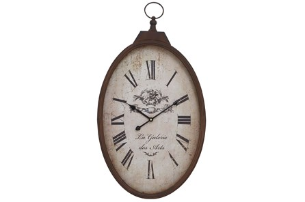 16 Inch Metal Wall Clock - Main