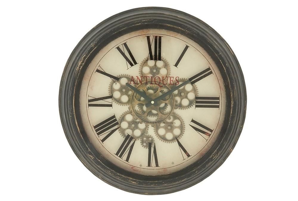 18 Inch Metal Wall Clock