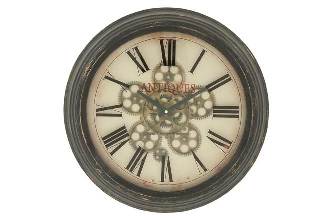 18 Inch Metal Wall Clock - 360