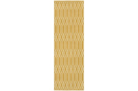 22X90 Rug-Canary Lattice
