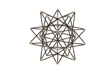 7 Inch Metal Wire Star Decor - Main