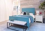 Bayside White 2-Drawer Nightstand - Room