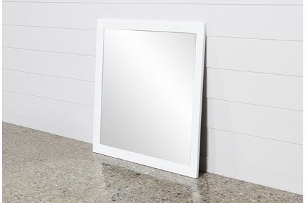 Bayside White Mirror - Main