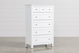 Bayside White Chest Of Drawers