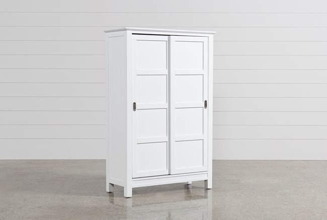 Bayside White Wardrobe - 360