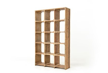 Ambrose Open Bookcase