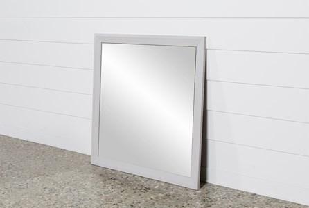 Bayside Grey Mirror