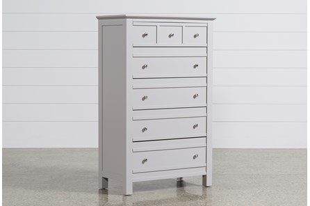 Bayside Grey Chest Of Drawers - Main