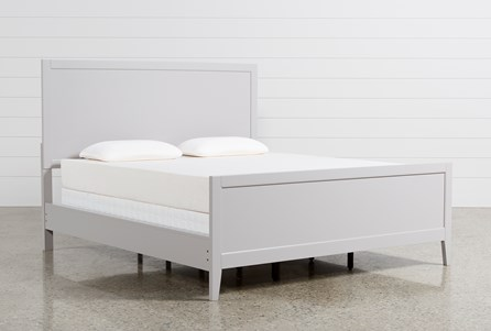 Bayside Grey California King Panel Bed