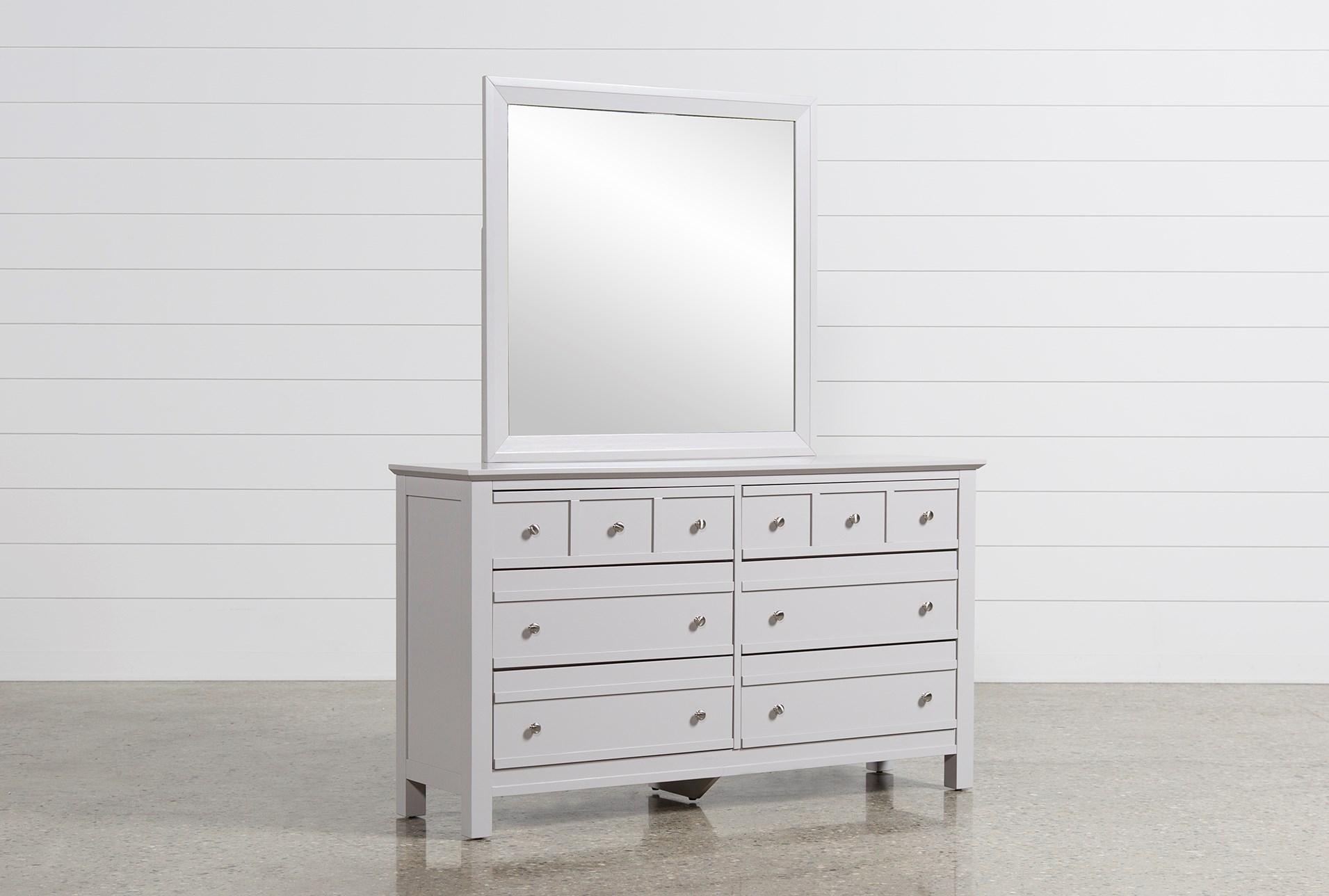 Bayside Grey Dresser   Living Spaces