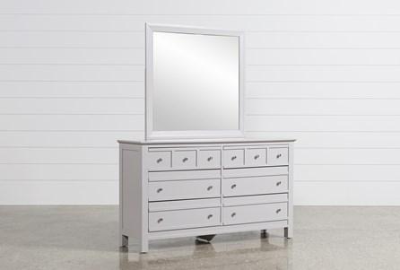 Bayside Grey Dresser/Mirror