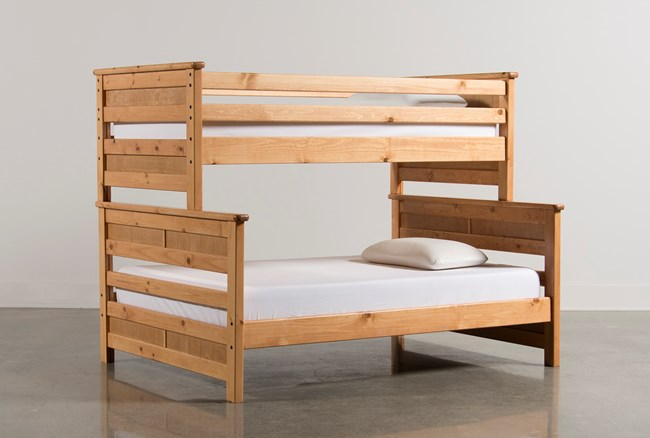 Summit Caramel Twin Over Full Bunk Bed - 360