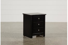 "Summit Black 26"" Nightstand"