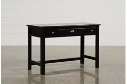 "Summit Black 48"" Desk"