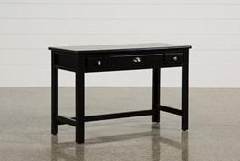 "Summit Black 48"" Desk"