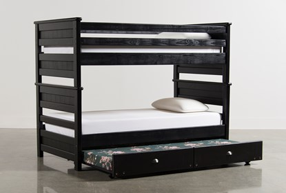 Summit Black Full Over Bunk Bed