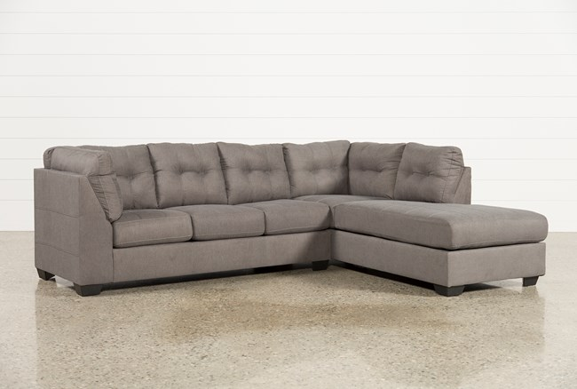 Maier Charcoal 2 Piece Sectional W Raf Chaise