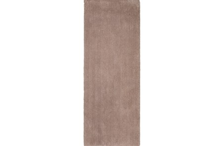 27X90 Runner Rug-Elation Shag Beige - Main