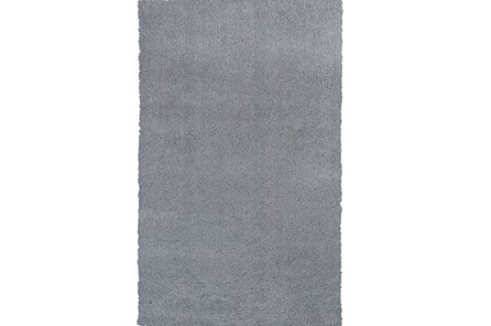39X63 Rug-Elation Shag Grey - Main