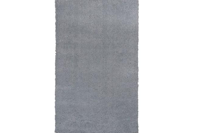 """3'3""""x5'3"""" Rug-Elation Shag Grey - 360"""