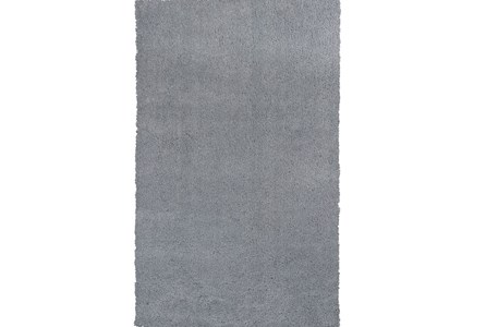 96X132 Rug-Elation Shag Grey