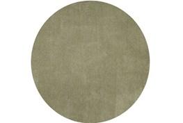 96 Inch Round Rug-Elation Shag Sage