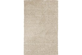 27X45 Rug-Elation Shag Heather Ivory
