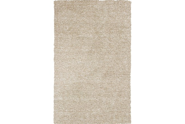 27X45 Rug-Elation Shag Heather Ivory - 360