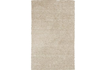 39X63 Rug-Elation Shag Heather Ivory
