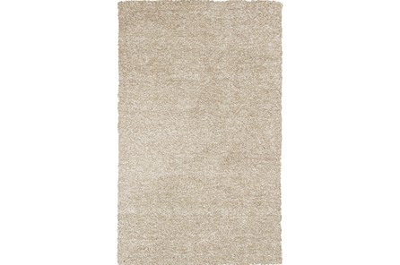 39X63 Rug-Elation Shag Heather Ivory - Main