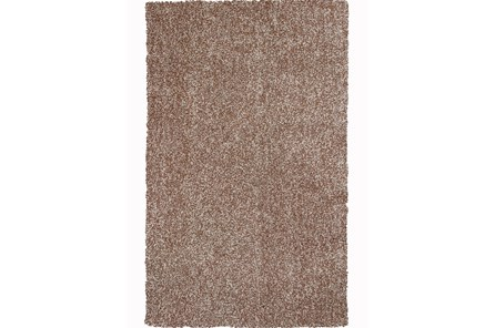 39X63 Rug-Elation Shag Heather Beige