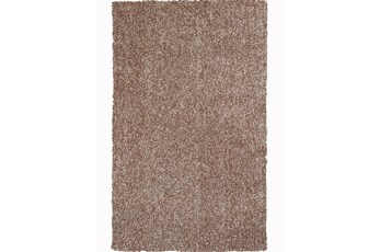 96X132 Rug-Elation Shag Heather Beige