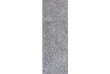 27X90 Runner Rug-Elation Shag Heather Grey