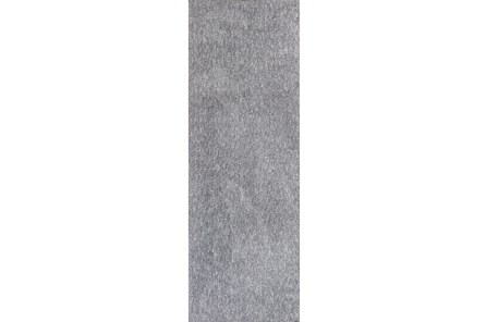 27X90 Runner Rug-Elation Shag Heather Grey - Main