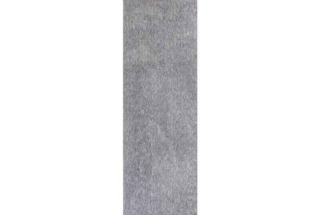 27X90 Runner Rug-Elation Shag Heather Grey - 360