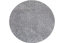 72 Inch Round Rug-Elation Shag Heather Grey