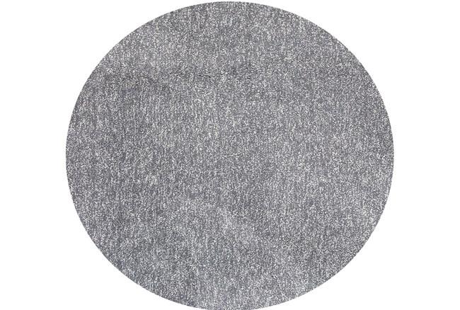 72 Inch Round Rug-Elation Shag Heather Grey - 360