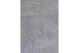 96X132 Rug-Elation Shag Heather Grey
