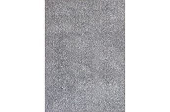 96X132 Rug-Elation Shag Heather Grey