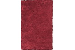 27X45 Rug-Elation Shag Red