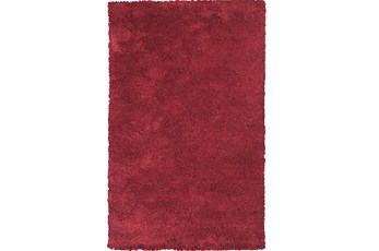 39X63 Rug-Elation Shag Red