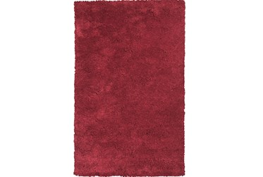5'x7' Rug-Elation Shag Red