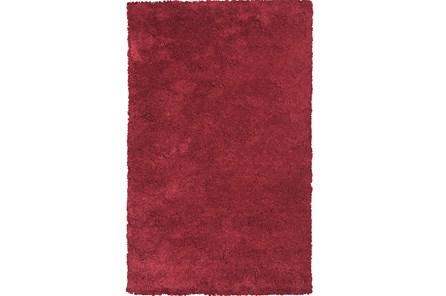 60X84 Rug-Elation Shag Red