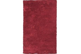 96X132 Rug-Elation Shag Red