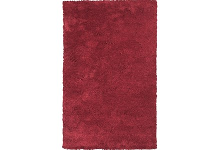 96X132 Rug-Elation Shag Red