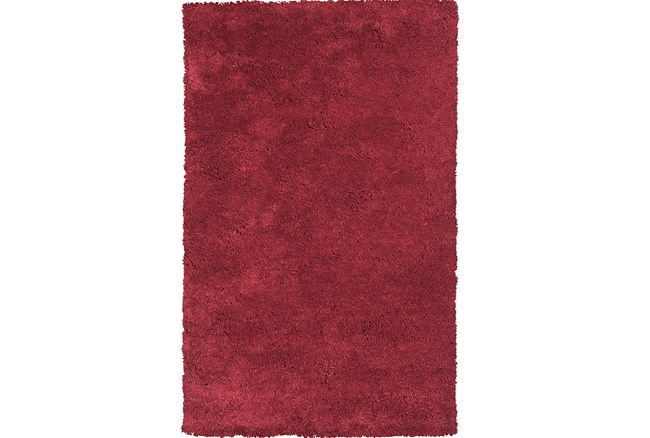 96X132 Rug-Elation Shag Red - 360