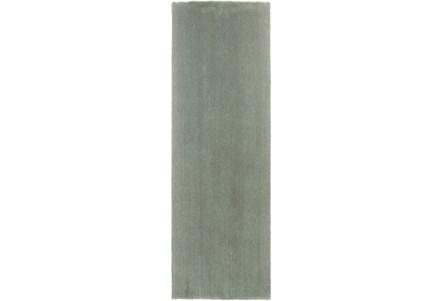 27X90 Runner Rug-Elation Shag Slate
